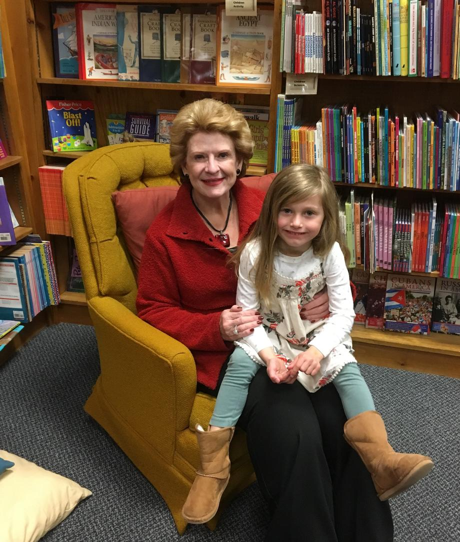 """People were so pleased to meet Senator Stabenow,"" said Lynn Anderson, Owner of Great Lakes Book & Supply. ""We were honored to have her stop by and we appreciate the support she gives the area."""
