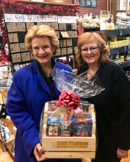Senator Stabenow Visits Heart of Michigan in Howell