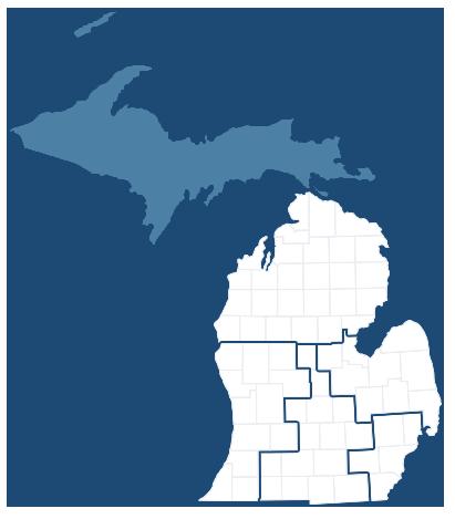 Email Debbie Contact US Senator Debbie Stabenow Of Michigan - Ap us senate map